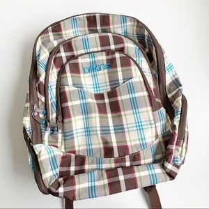 Plaid Dakine Backpack w/ matching Cross-Body Bag